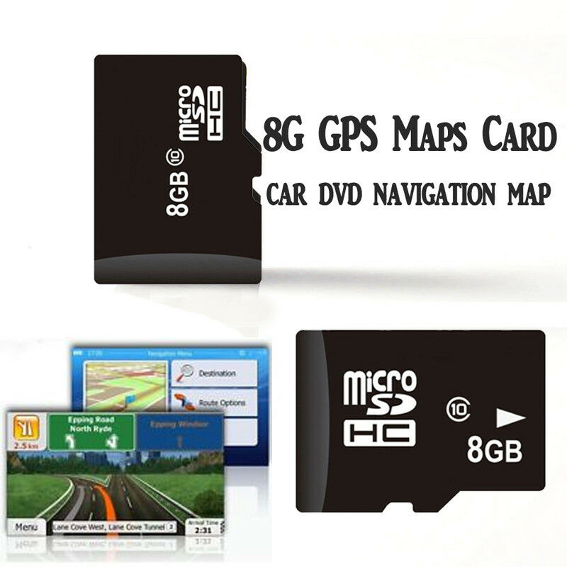 8g tf card autoradio gps navigation map karte dvd player. Black Bedroom Furniture Sets. Home Design Ideas