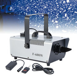 Kyпить Hight Power 600W Snow Machine Stage DJ Show Christmas Snowflake Effect Machine на еВаy.соm