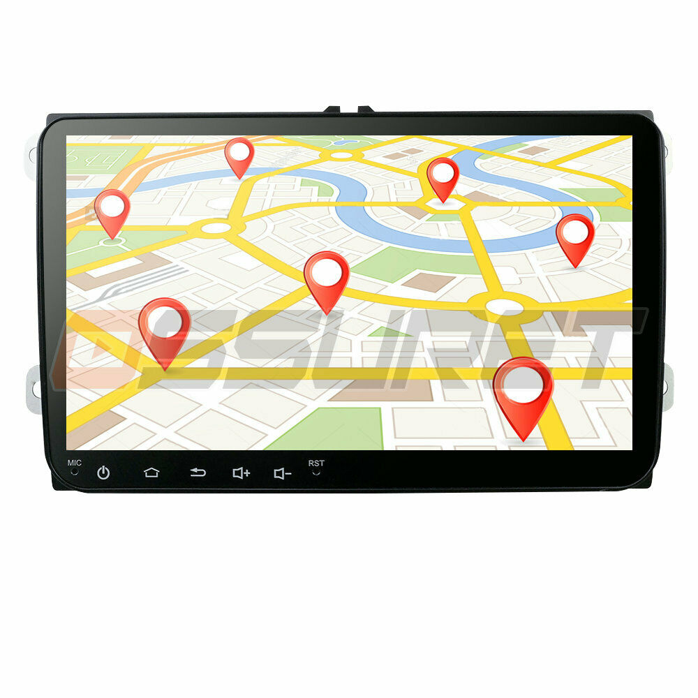 hizpo 8 vw golf mk5 mk6 skoda seat car radio stereo dvd. Black Bedroom Furniture Sets. Home Design Ideas
