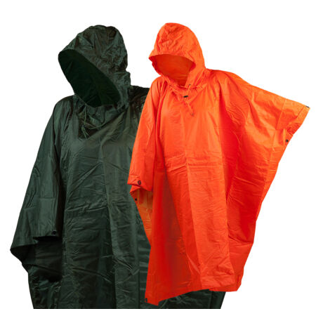 img-Army Rain Poncho US Poncho Angler Cape Rain Jacket Cape Onesize Orange Green