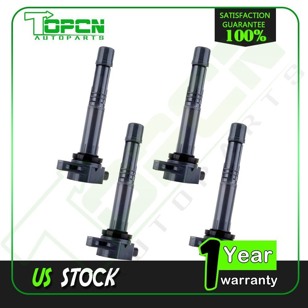 PACK OF 4 NEW IGNITION COILS For 2002 2003 Acura RSX L