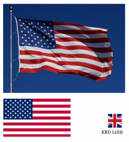Large USA FLAG Olympics Sport America National US American Supporters Fans 3x5FT