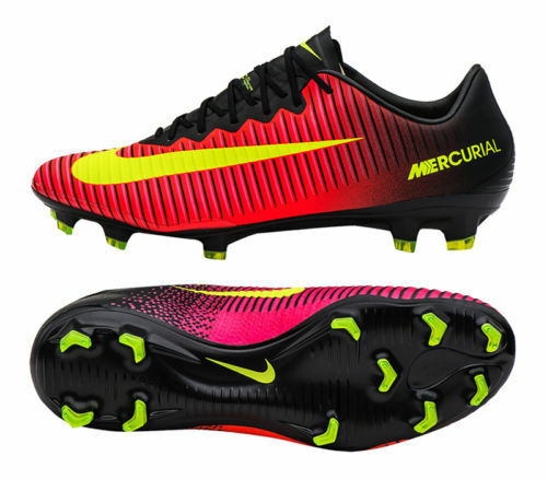 innovative design 1238c 96e81 New Mens Nike Mercurial Vapor XI FG Soccer Cleats Sz 12 Crimson Black  831958-870 886737634585  eBay