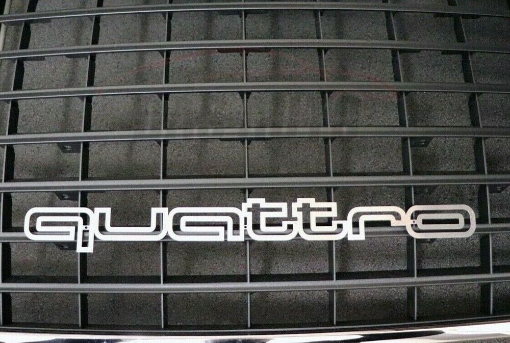 QUATTRO GRILL BADGE AUDI LATEST Fit-a1 A3 A4 A5 A6 S3 S4