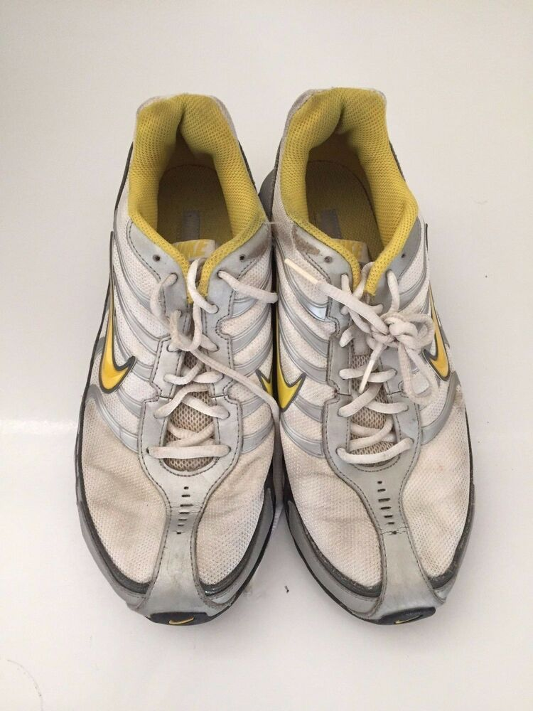 23e61aebc2f6 Details about Nike REAX RUN 3 Women s Running Shoes Size 10 Athletic  Sneakers Work out Yellow