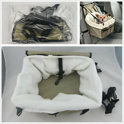 Puppy Dog/Cat Carrier Car Booster Seat Pet Snoozer Hammock Safety Basket Travel