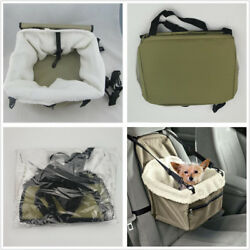 Portable Puppy Dog/Cat Carry Car Booster Seat Pet Snoozer Hammock Safety Basket