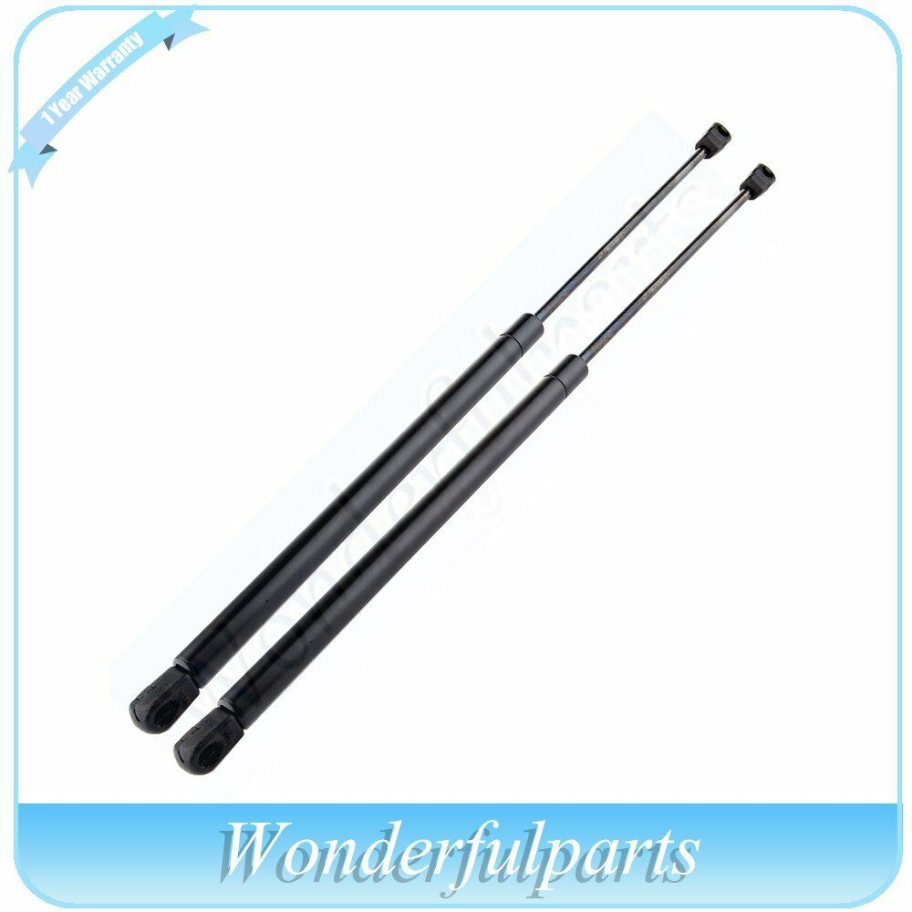 2 Front Hood Gas Charged Lift Supports Struts Shocks For