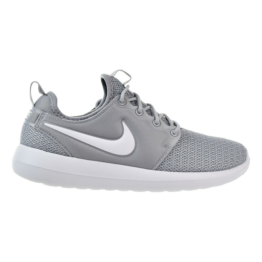 913e2b2e698f4 Details about Nike Roshe Two Women s Shoes Wolf Grey White Wolf Grey  844931-009