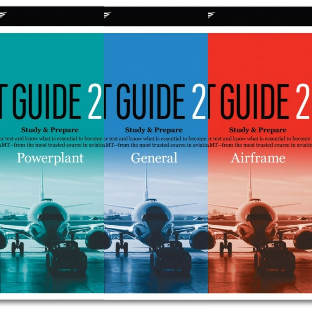 ASA AMT Test Guide Bundle, Airframe, Powerplant, General FREE SHIPPING |  eBay