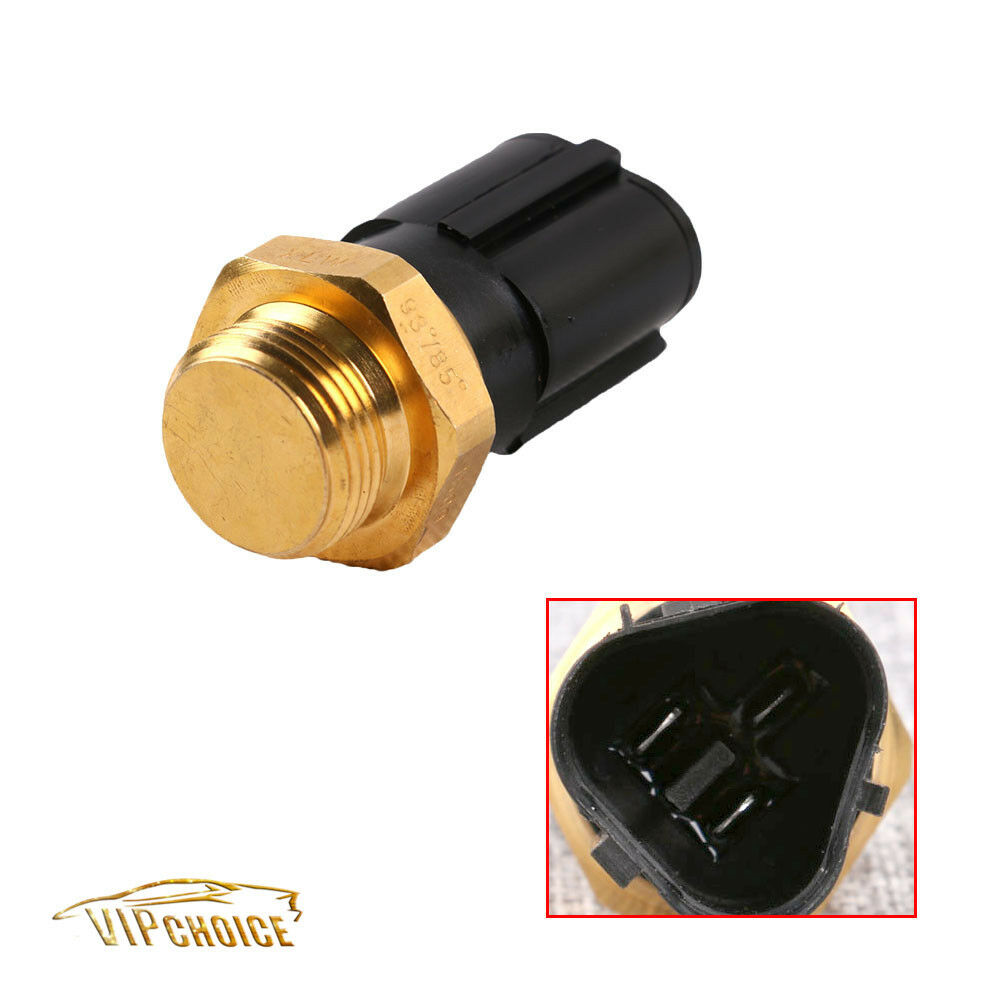 Engine Coolant Fan Temperature Sensor Switch For Vw Golf Jetta Beetle Audi A3