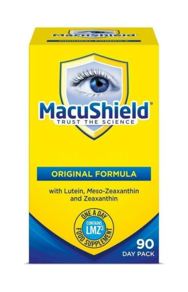 Macushield With Meso-zeaxanthin For Macular Health 90 Caps SHIPS FAST FROM USA
