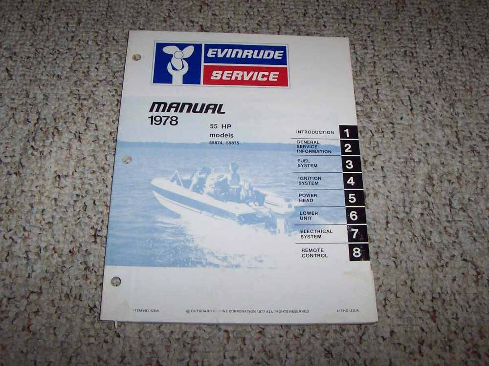 Stupendous The Ignition Wiring Diagram For Evinrude 55Hp Model 55875S Wiring Digital Resources Funapmognl
