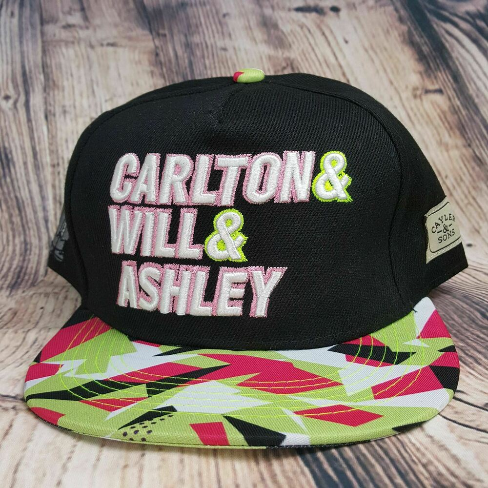 6f79309b9bc Details about Carlton Will   Ashley Retro Firework Baseball Cap Funky  Adjustable Snapback Hat