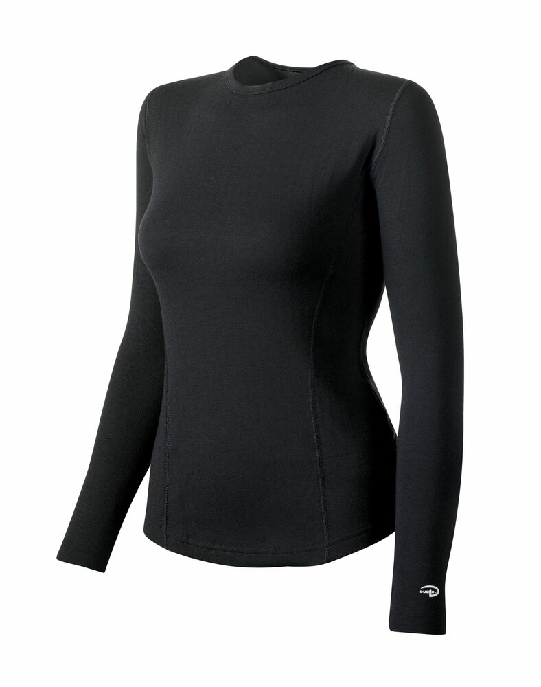 4d952a23c7e102 Details about 2 Duofold by Champion Varitherm Women s Thermal Long-Sleeve  Shirts KEW3