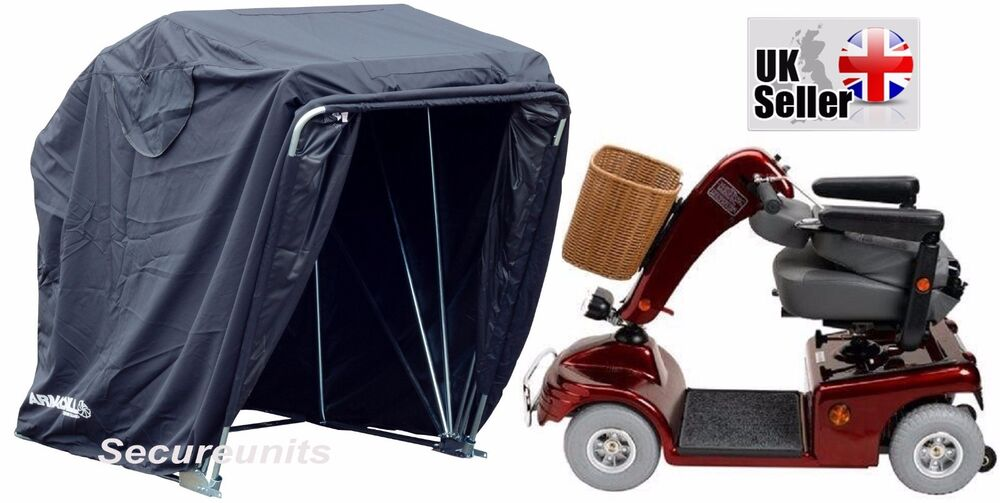 Mobility scooter storage shelter canopy cover garage for Garage scooter 95