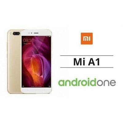 Xiaomi Mi A1 Gold  64 Gb  4gb Ram  Dual 12+12mp/ 5mp  1 Year Mi India Warranty