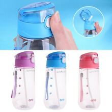 Portable 500ML Baby Kids Children Feeding Drinking Water Bottle Cup With Straw