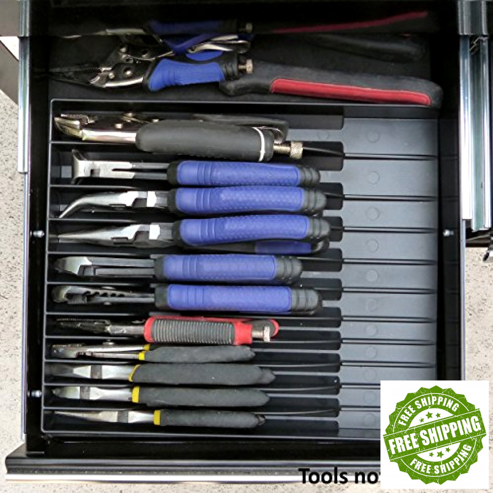 Hand Tool Pliers Organizer Plier Holder Rack Caddy Tools