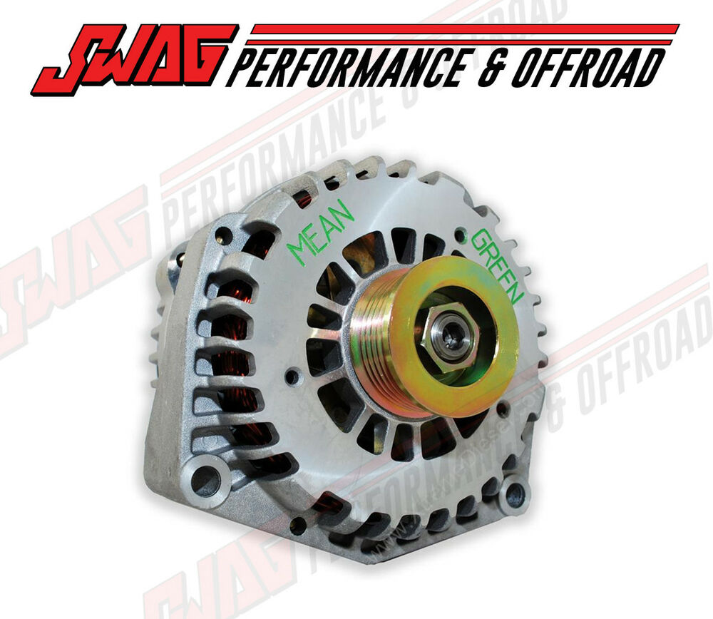 4 5 L Duramax >> Mean Green 200 Amp High Output Alternator For '01-07 Duramax 6.6L LB7 LLY LBZ | eBay