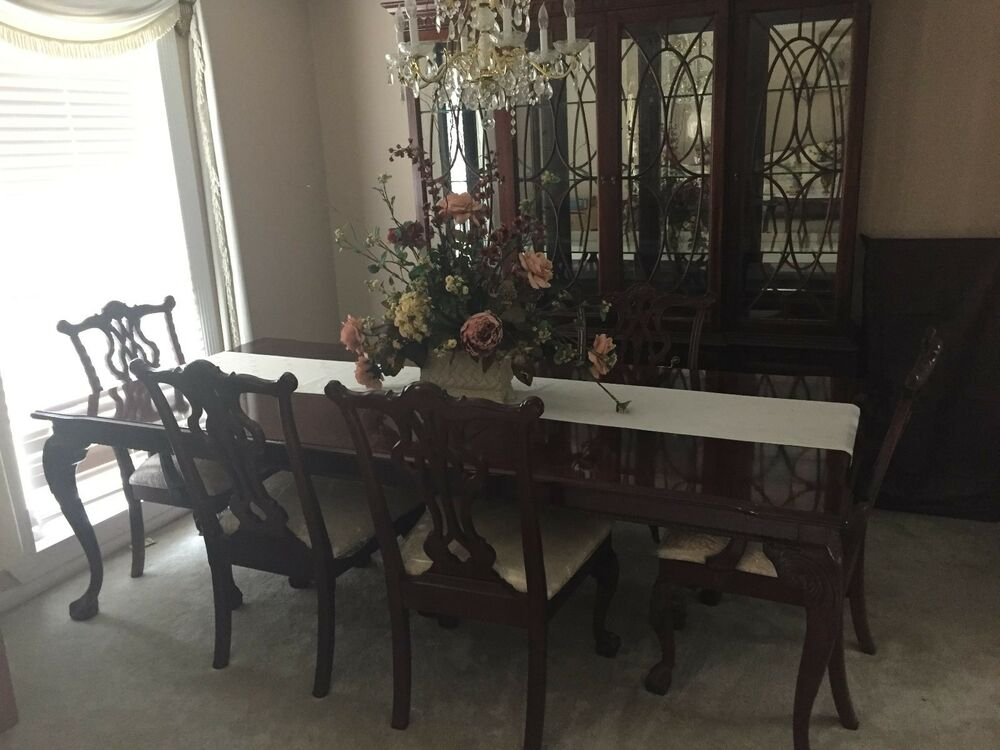 take along travel chair company thomasville georgia. thomasville mahogany dining set with 6 chairs \u0026 china take along travel chair company georgia i