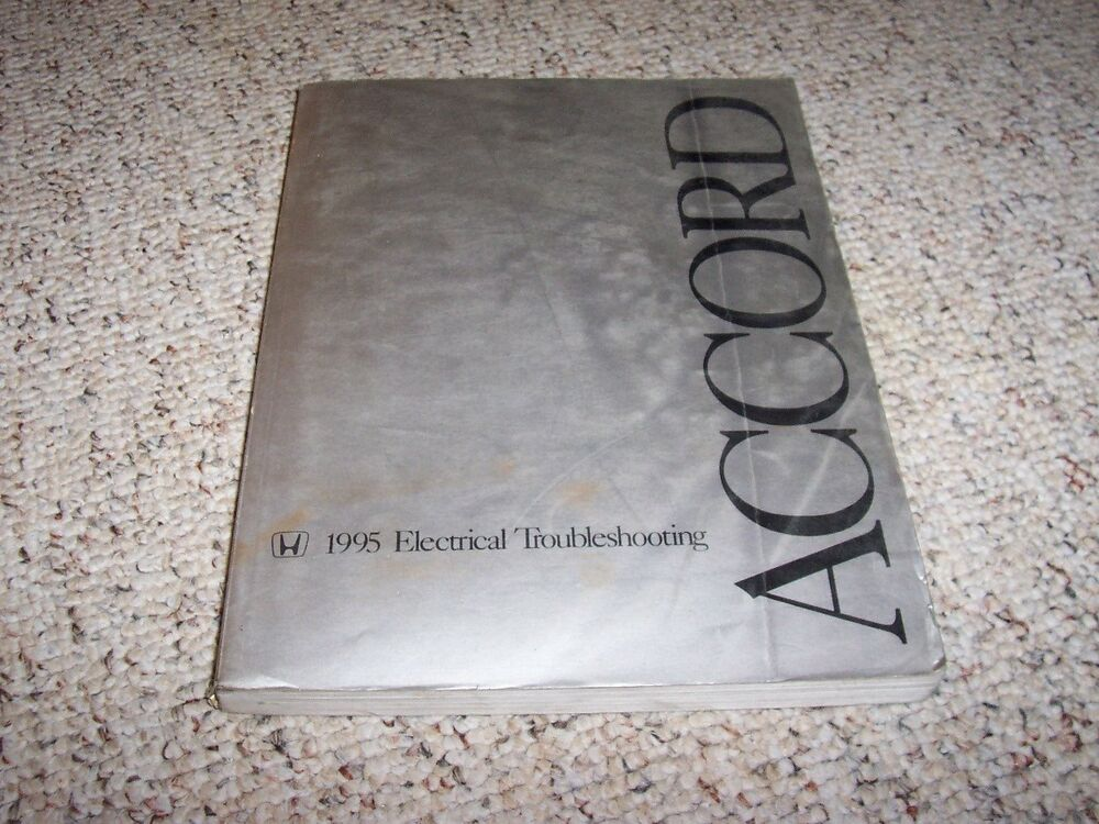 1995 Honda Accord Electrical Wiring Diagram Manual Dx Lx
