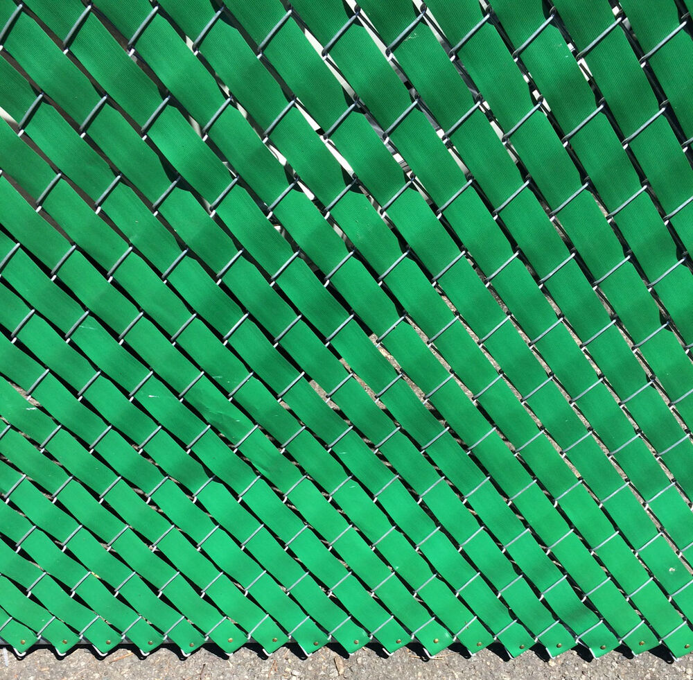 Privacy fence weave for chain link ft roll