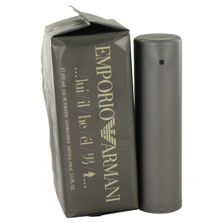 emporio armani cologne perfume for men 1 7 oz 50ml 3 4 oz 100ml edt spray new ebay. Black Bedroom Furniture Sets. Home Design Ideas
