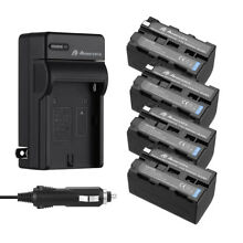 5200mah NP-F750 Li-ion Battery +Charger For Sony NP-F770 NP-F760 NP-F730 NP-F970