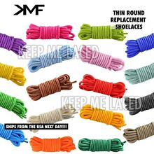 Thin Round Athletic Colorful Replacement Shoelaces Fast Ship Buy 2 Get 1 Free