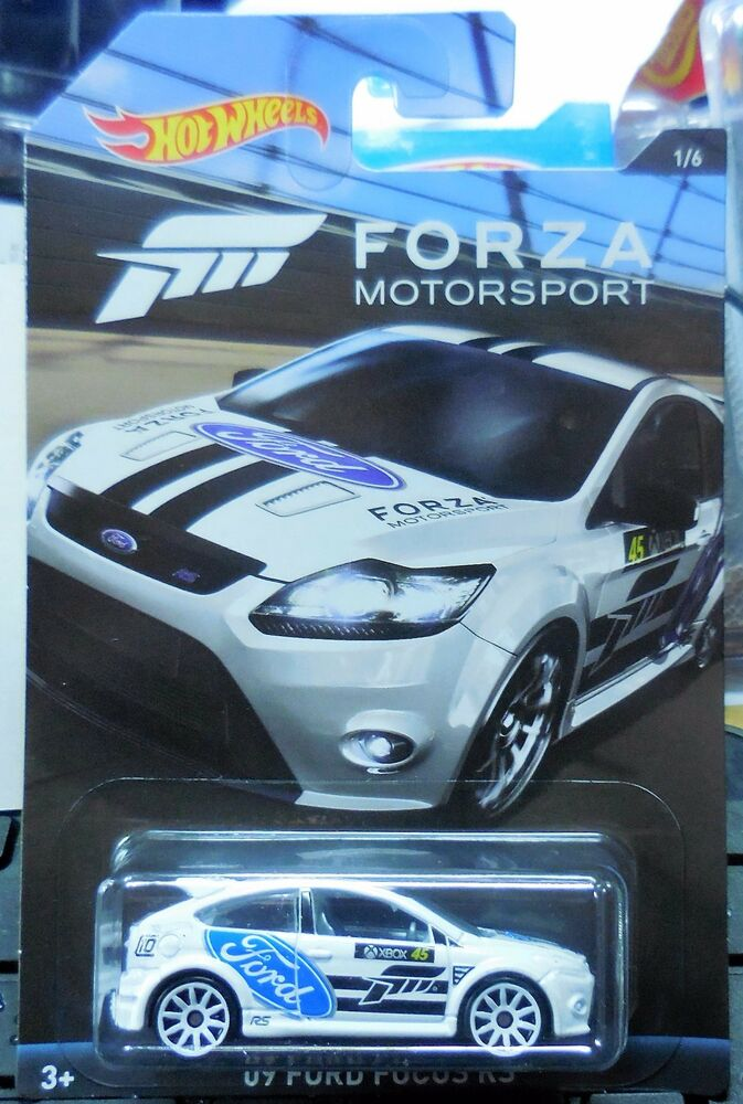 2017 hot wheels forza motor sports 2009 ford focus rs 1/6 walmart