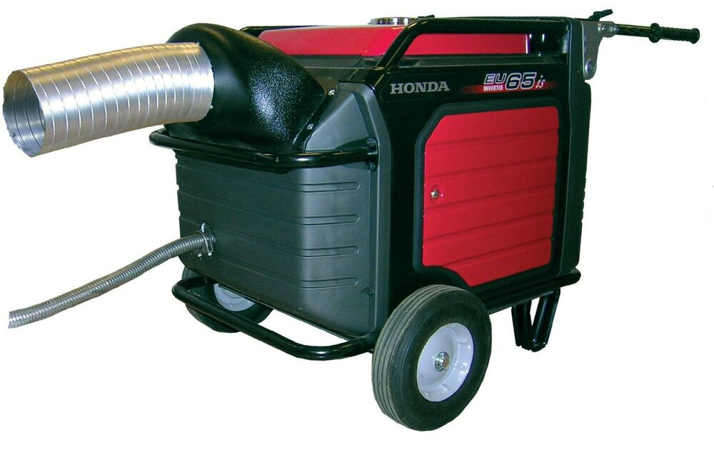 Honda eu7000is generator exhaust system directs exhaust for Honda vs yamaha generator
