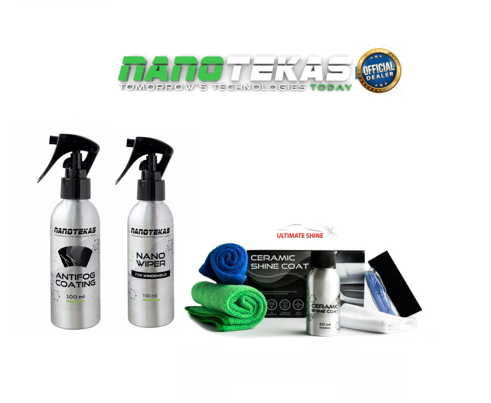 98deb42524a8 Details about Nano Car Body Paint Protection CERAMIC SHINE COAT   Glass  Protection AntiFog
