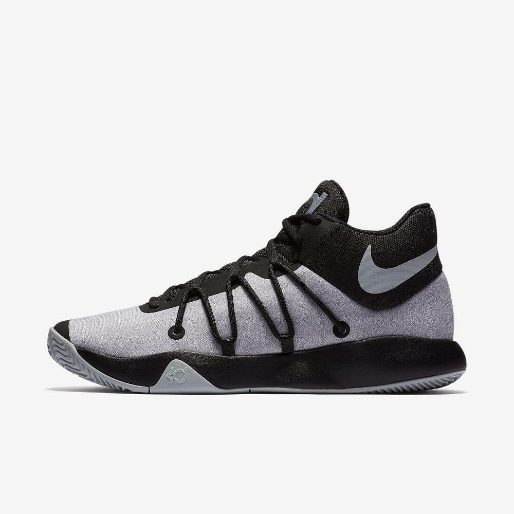 innovative design 099f4 0b874 Details about NIKE KD TREY 5 V 897638 010 BLACK WOLF GREY - KEVIN DURANT 35  ZOOM AIR BBALL