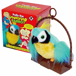 Kyпить New! Polly The Insulting Parrot Bird - Motion Activated Offensive Adult Talking на еВаy.соm