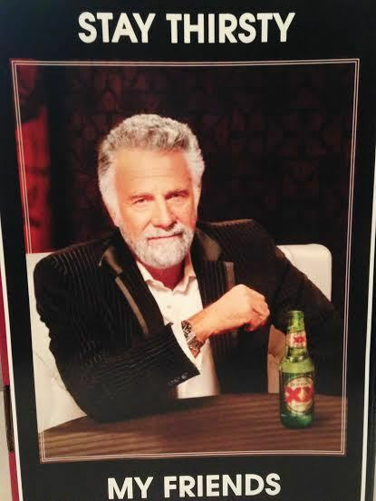 dos equis the most interesting man in the world beer 18 x