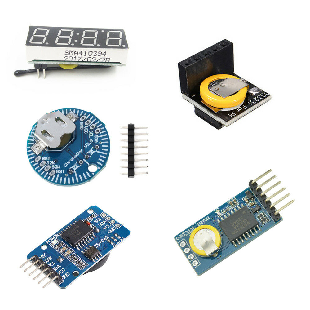Rtc 33v 5v I2c Ds3231 Rx8025t Real Time Clock Module Arduino Ebay And Circuit Schematics