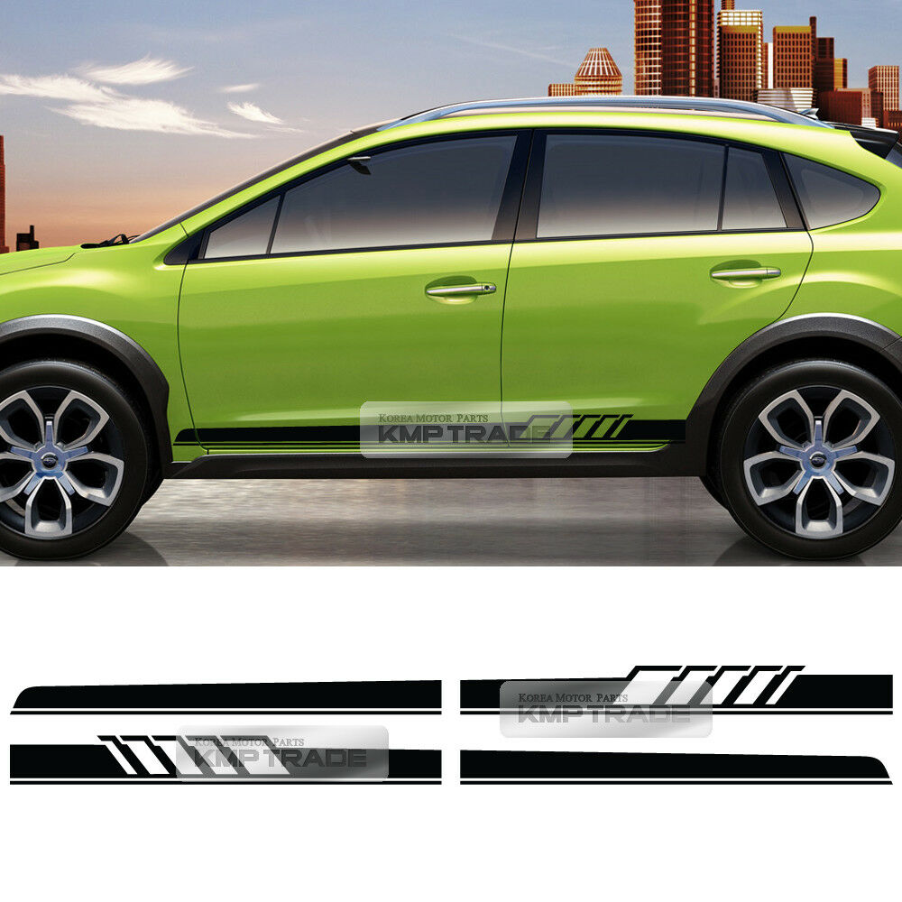 Details about universal car side panel lower door stripe line decal sticker for all vehicle