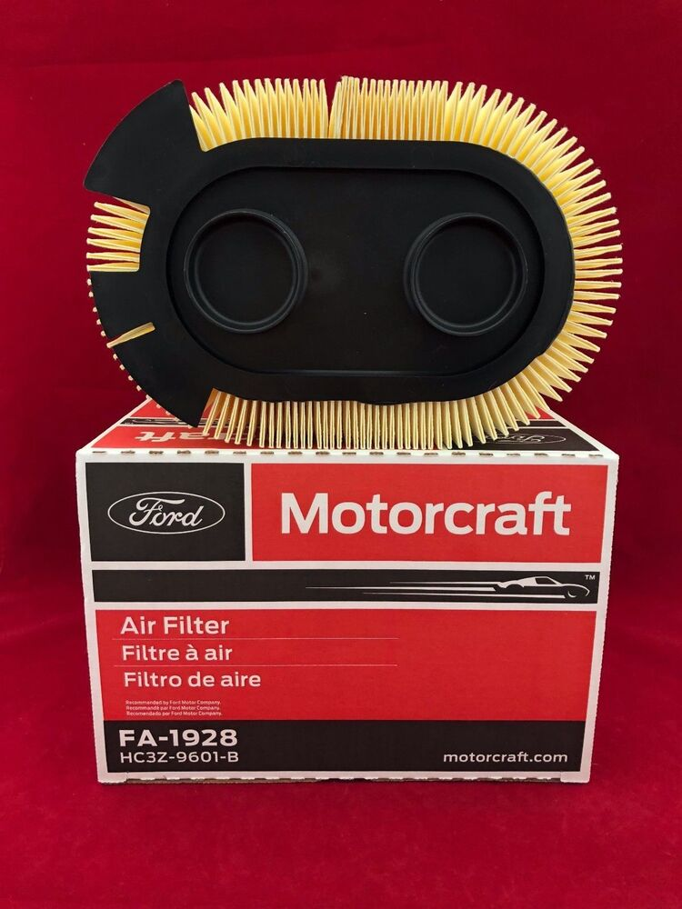 new oem genuine ford motorcraft engine air filter fa1928 hc3z 9601 b free ship ebay. Black Bedroom Furniture Sets. Home Design Ideas