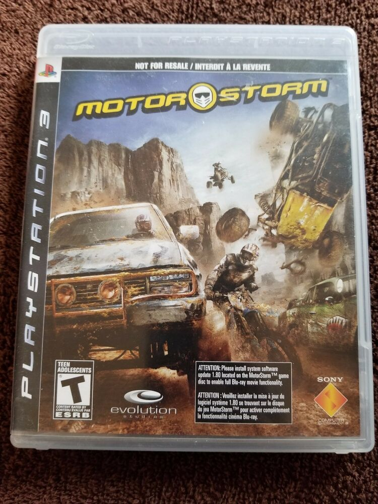 MotorStorm (Sony PlayStation 3, 2007) Pre-owned 711719813729 | eBay