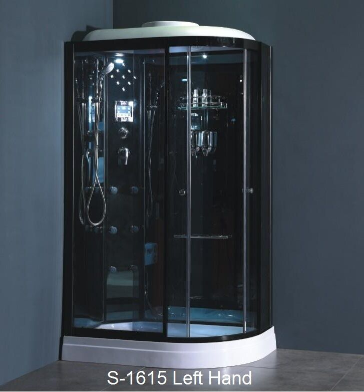 Corner Shower Enclosure Model S 1615
