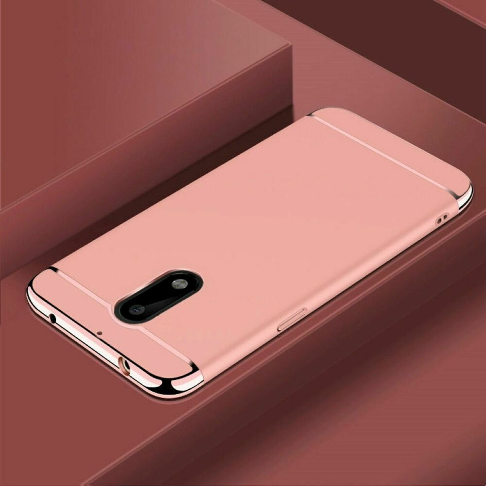 handy h lle schutz case f r nokia 6 bumper 3 in 1 cover chrom etui rose gold neu ebay. Black Bedroom Furniture Sets. Home Design Ideas
