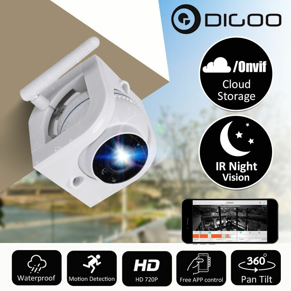 Digoo 720P Waterproof Outdoor WIFI Security IP Camera ...