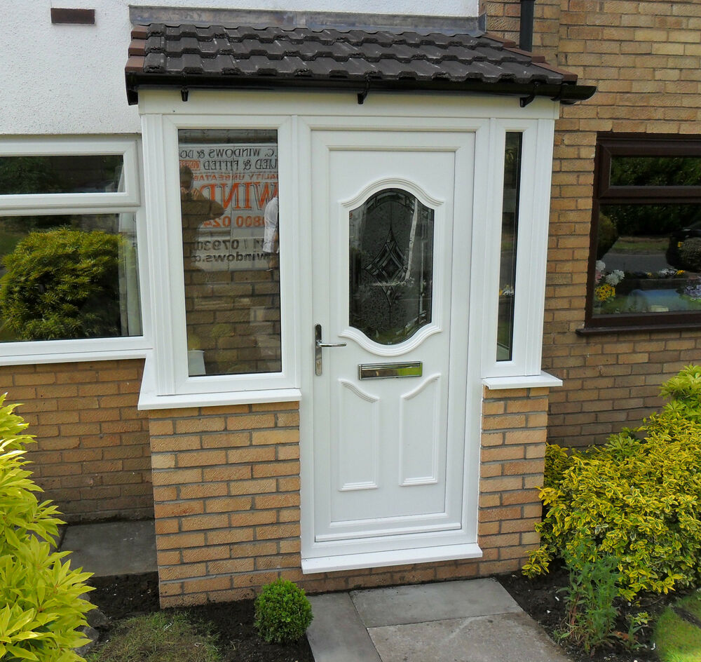 UPVC Porch Supplied U0026 Fitted In White Only £2400.00