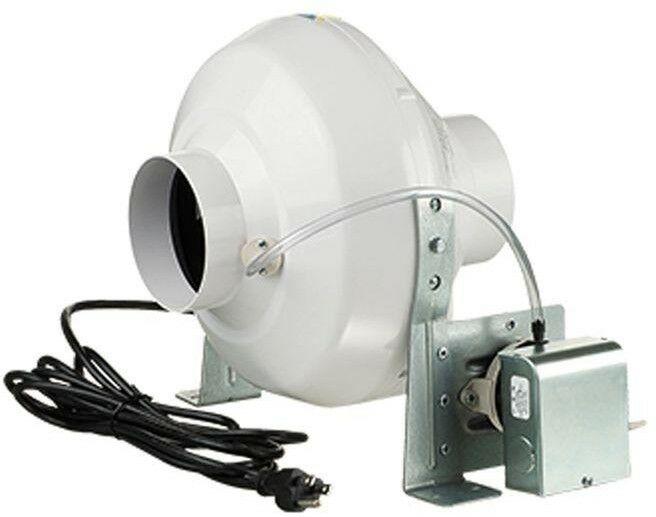 Dryer Booster Fan With 4 In Duct 162 Cfm Ventilation