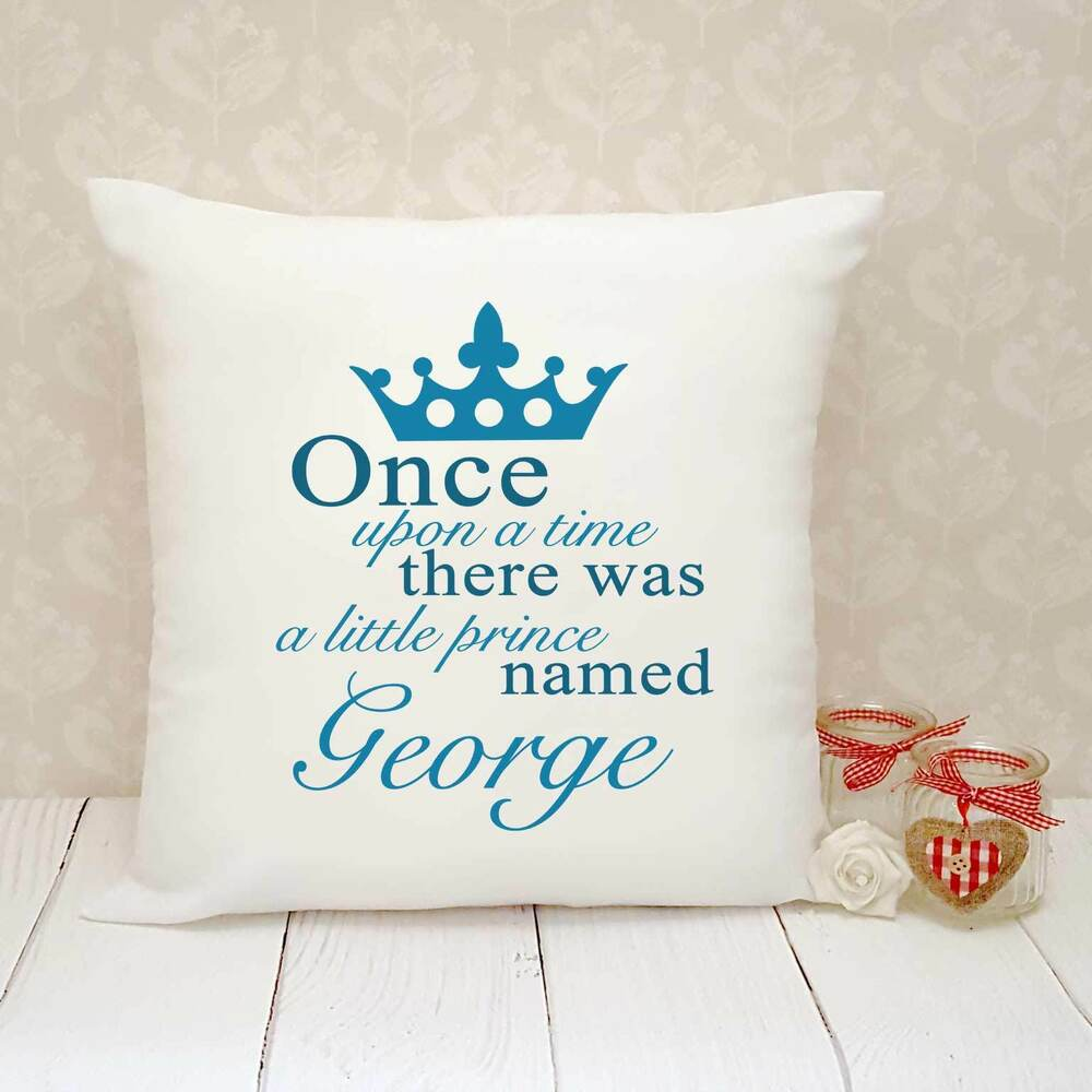 Details about Personalised Cushion Cover - Present Gift - Little Prince 2f8556bf5