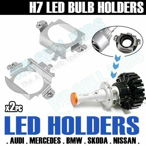 h7 led headlight bulb adapter holder retainer e60 audi a3. Black Bedroom Furniture Sets. Home Design Ideas