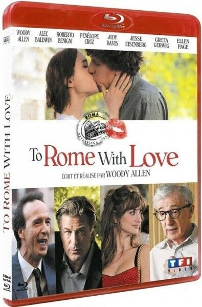 To Rome with love BLU-RAY NEUF SOUS BLISTER
