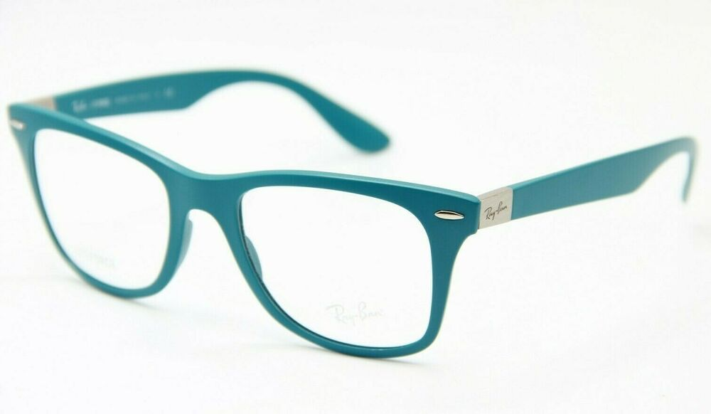 786f3d2e12f7 Details about NEW RAY-BAN RB 7034 5442 BLUE EYEGLASSES AUTHENTIC FRAMES RX  RB7034 52-19