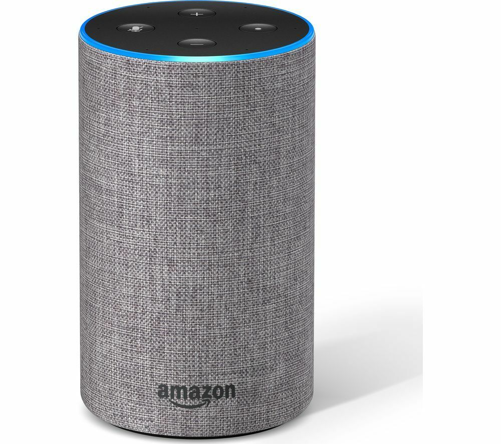 Amazon Echo New 2nd Generation Heather Grey Fabric Alexa